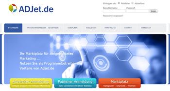ADJet Partnerprogramme